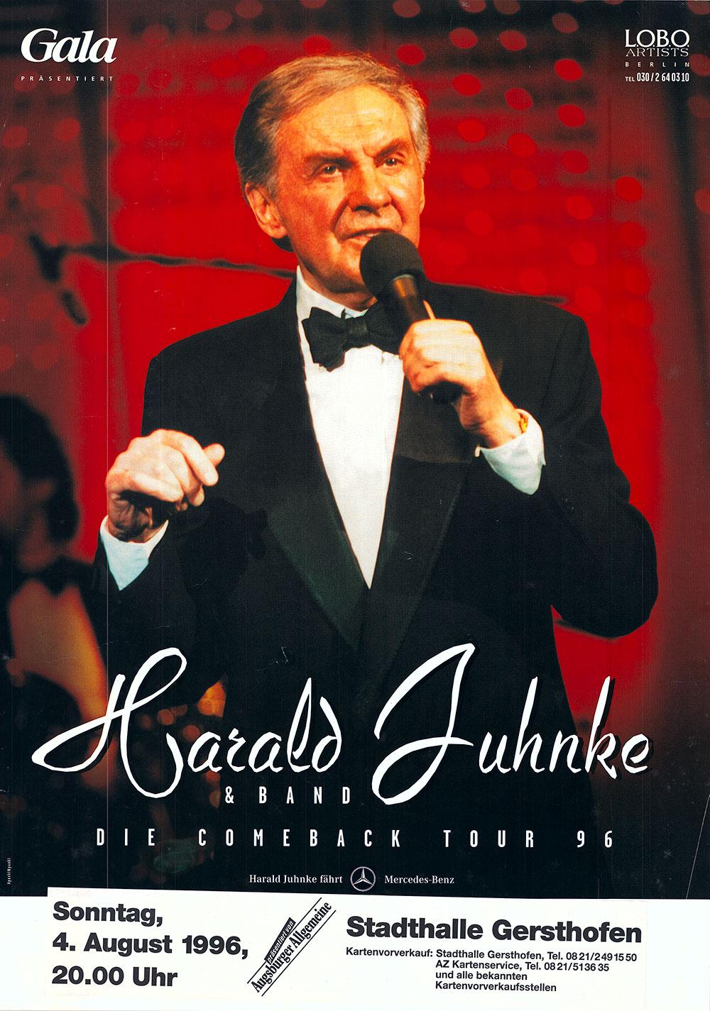 """Harald Juhnke galt als der """"deutsche Frank Sinatra"""" und einer der letzten großen Entertainer."""