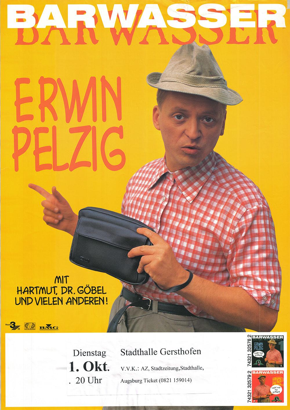Frank Markus Barwasser als Erwin Pelzig 1996