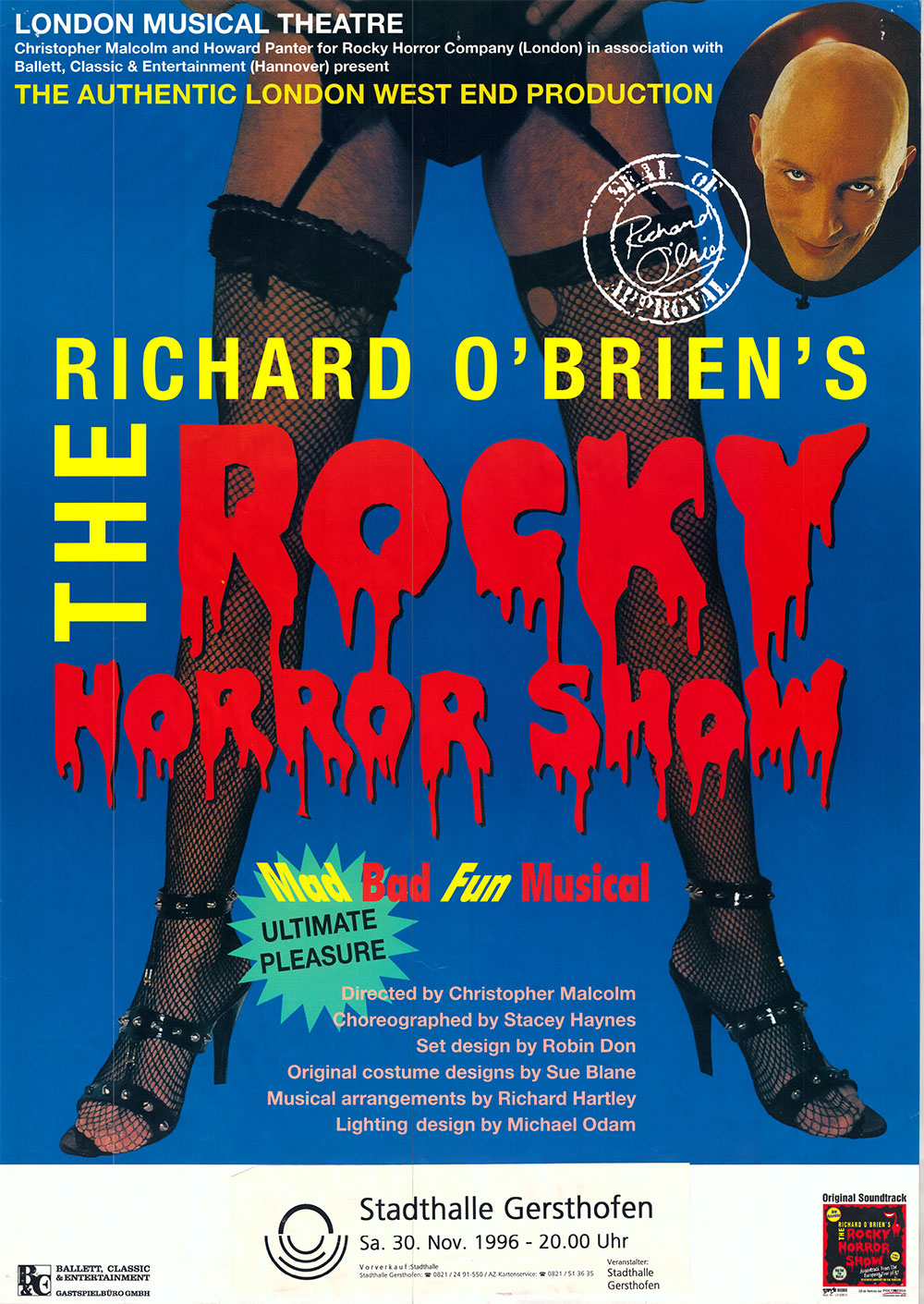 """""""It's just a jump to the left"""" - Die Rocky Horror Show"""