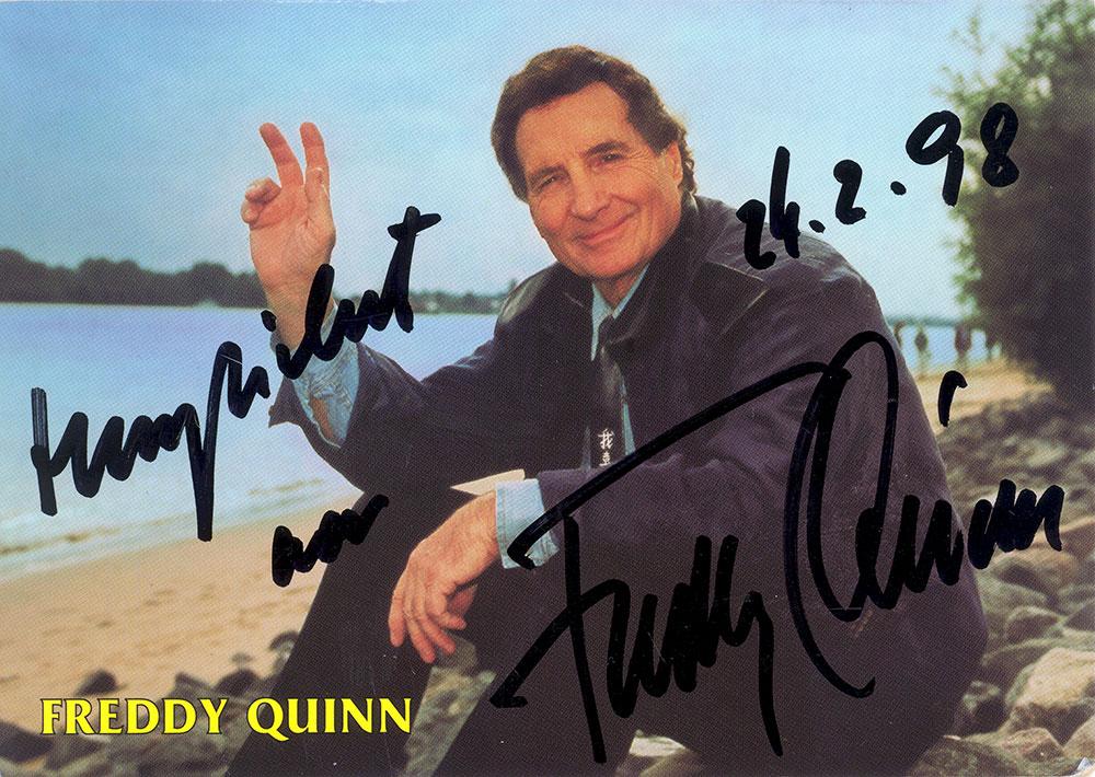 """Junge komm bald wieder"" war Freddy Quinns größter Hit"