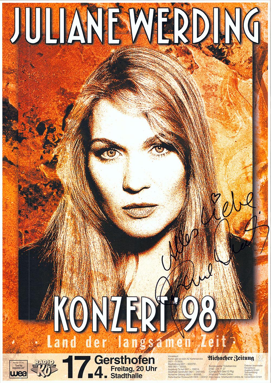 Juliane Werding gehört seit 1972 zu den großen Namen in der deutschsprachigen Musik