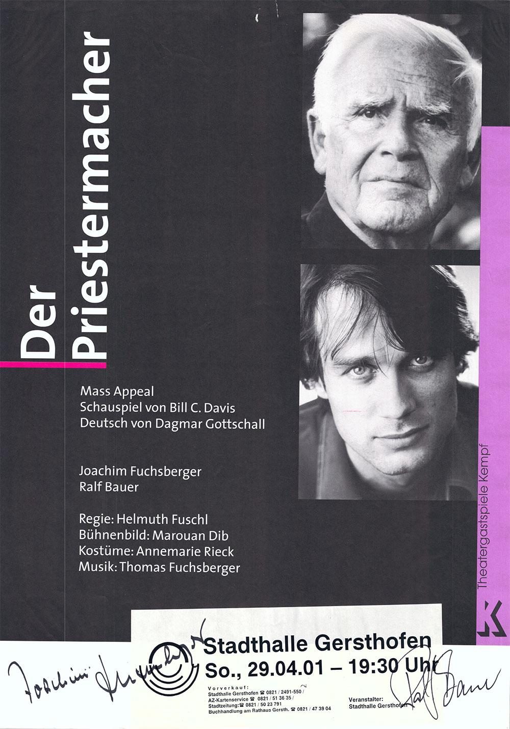 """Joachim """"Blacky"""" Fuchsberger wurde zusammen mit Ralf Bauer"""