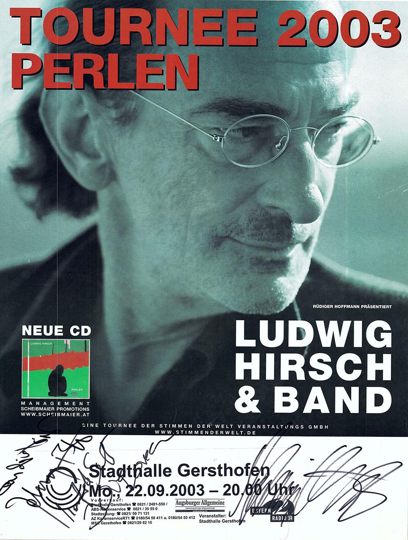Der Österreichische Liedermacher Ludwig Hirsch war mit seinen düsteren Liedern