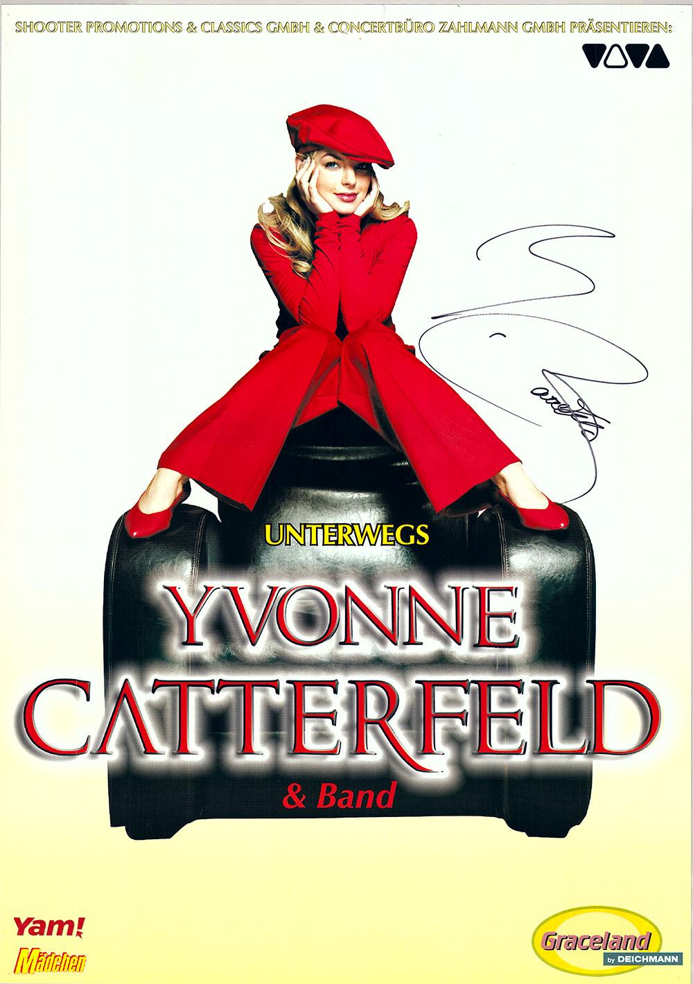 Inzwischen ist es etwas ruhiger um Yvonne Caterfield geworden,