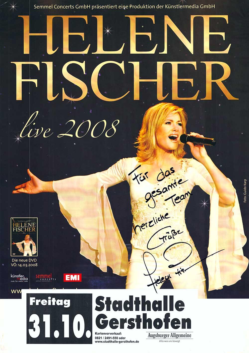 Kurz vor ihrem ganz großen Durchbruch war Helene Fischer