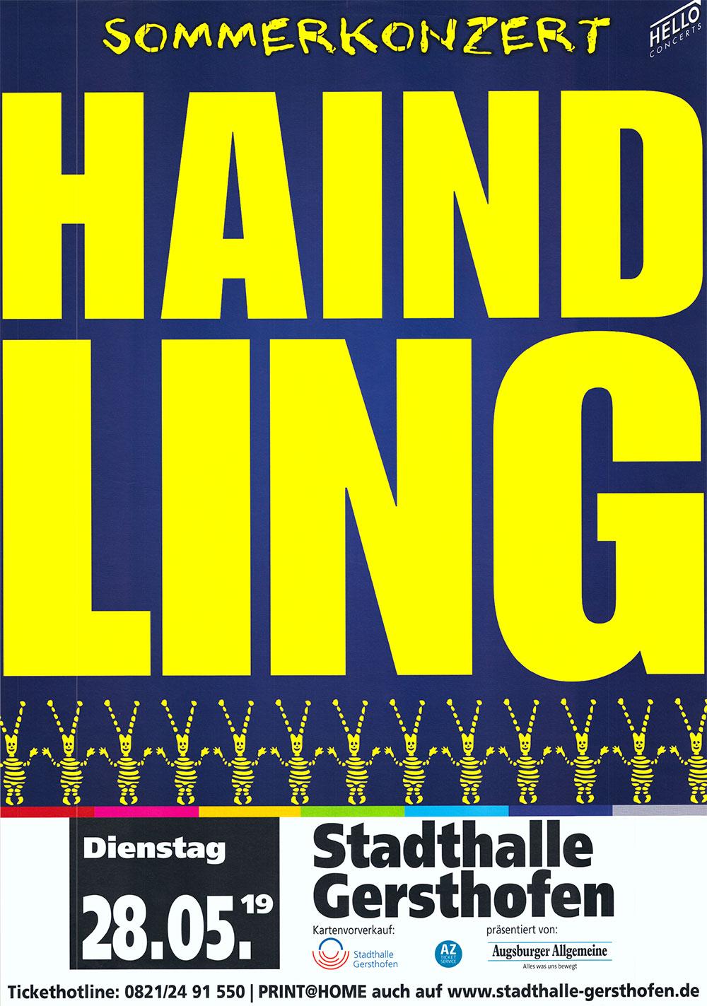 Bei Haindling kann man voller Überzeugung sagen, dass sie die Stadthalle Gersthofen